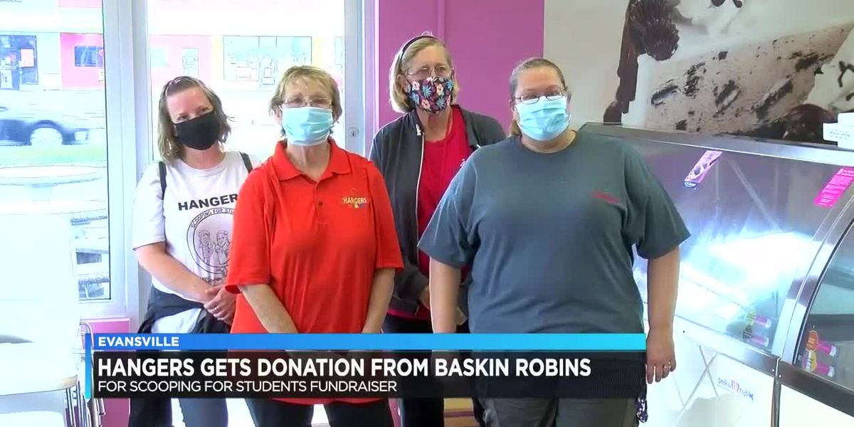 EVSC's Hangers receives donation from Baskin-Robbins