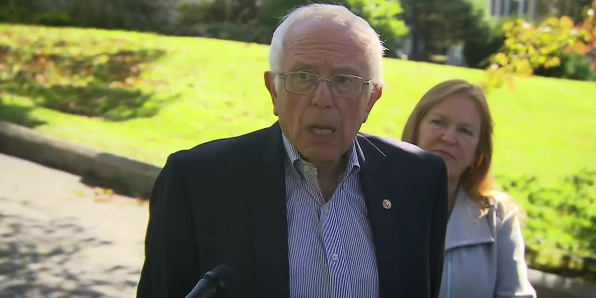 Sanders to slow campaign events in wake of heart attack