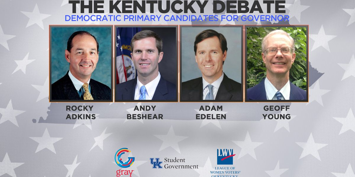 Final Kentucky Democratic gubernatorial debate takes place.