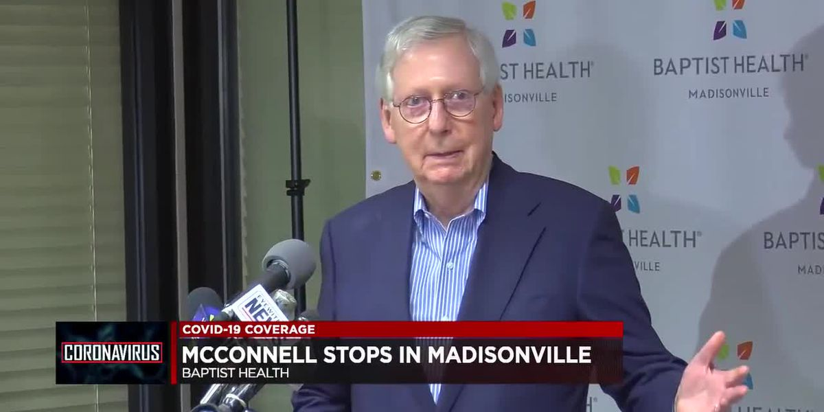 McConnell discusses COVID-19 Relief, vaccination distribution in Madisonville
