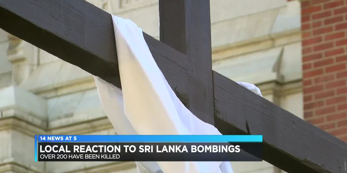 Local reaction to Sri Lanka bombings