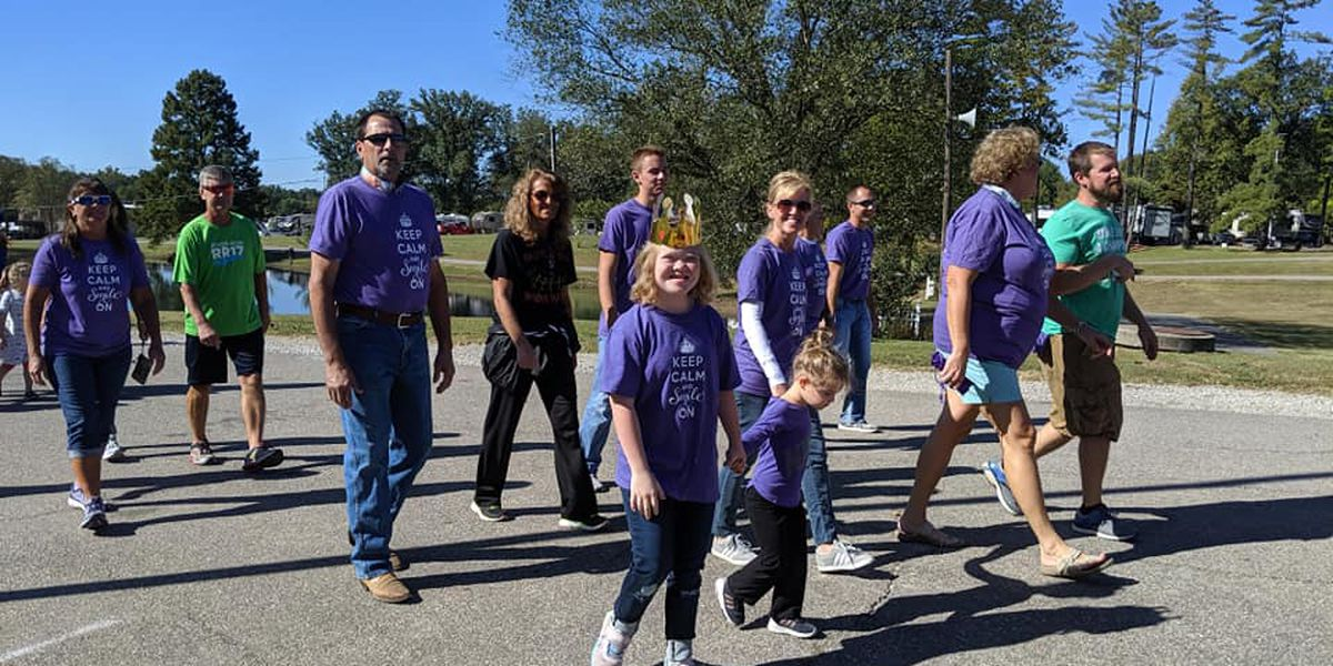 18th annual Smile on Down Syndrome's 'Smile Mile'