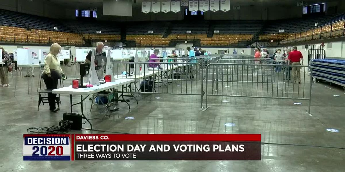 Voting plans in place ahead of election in Daviess Co.