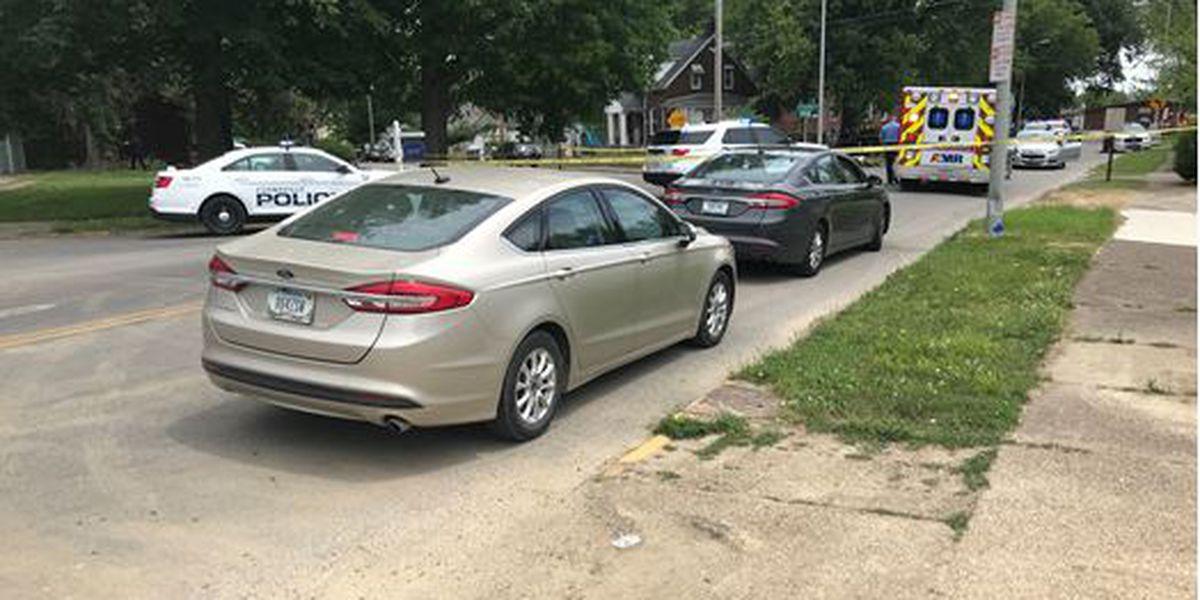 Motorcyclist hit by car in Evansville