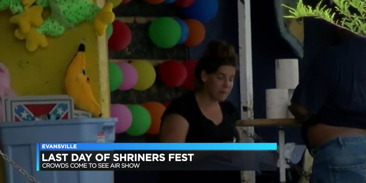 Crowds came out for last day of Shrinersfest