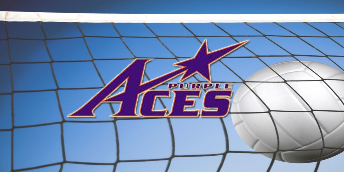 Aces Volleyball Sweeps So. Illinois