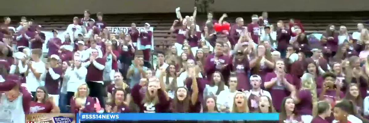 Henderson Co. Colonels showing their Sunrise School Spirit, pt. 2