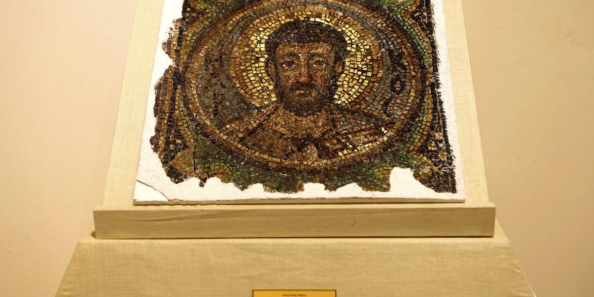Repatriated 6th-century mosaic to help reconstitute apse