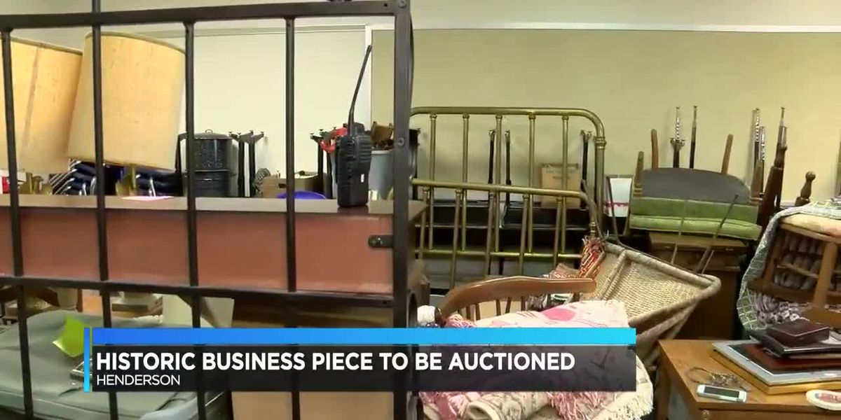 Historic Henderson business to be auctioned off