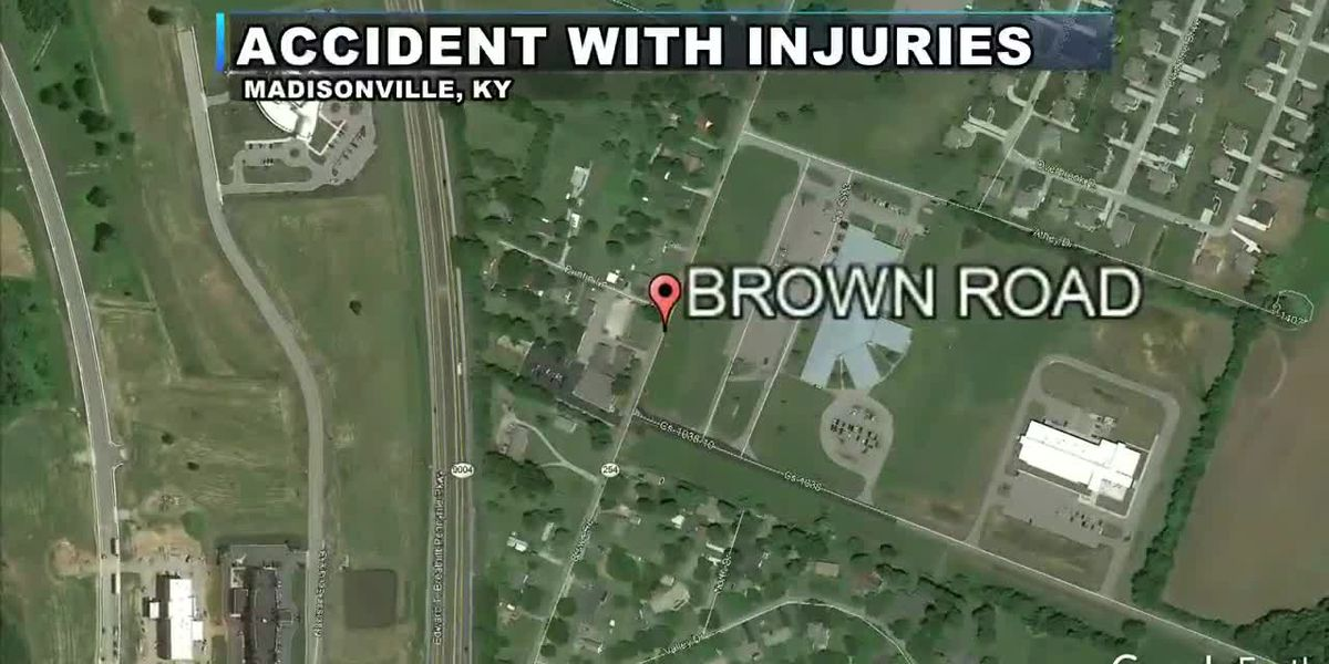 Head-on collision sends man to hospital in Madisonville