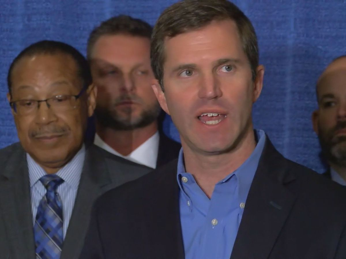 Beshear says transition team is 'energetic, talented'