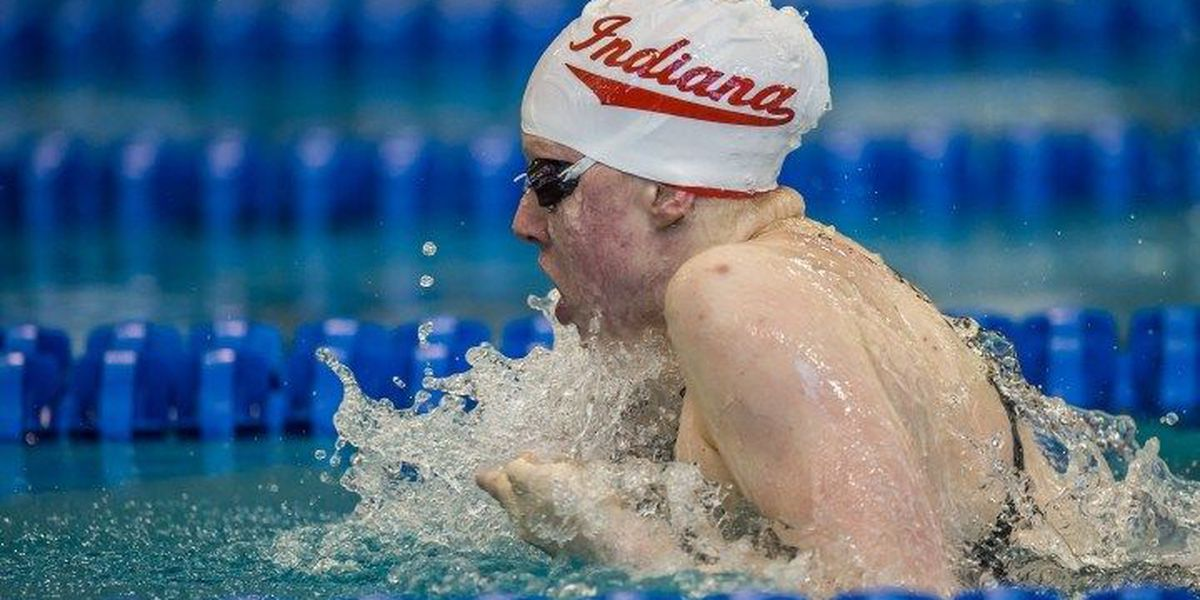 Lilly King qualifies as top speed for 100 breaststroke final
