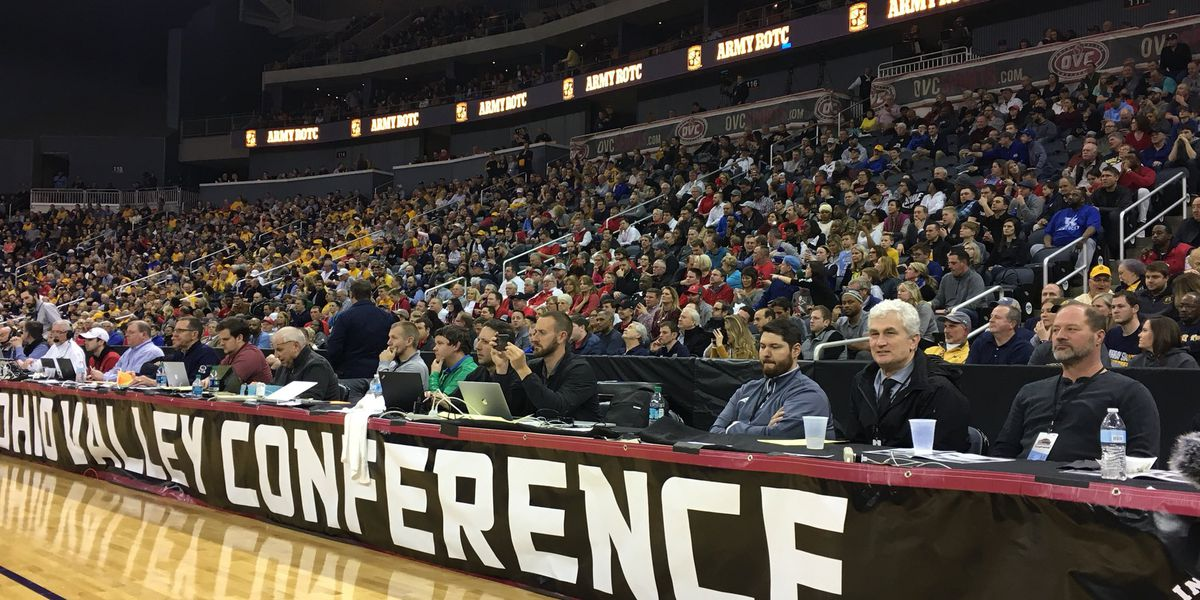 Ford Center packed Friday night for OVC tournament