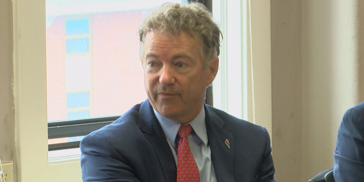 Rand Paul tests positive for COVID-19