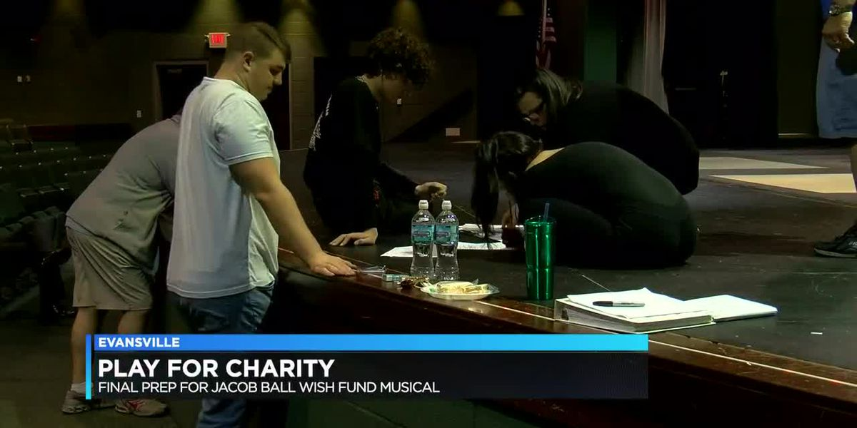 Play for Charity, final prep for Jacob Ball Wish Fund musical