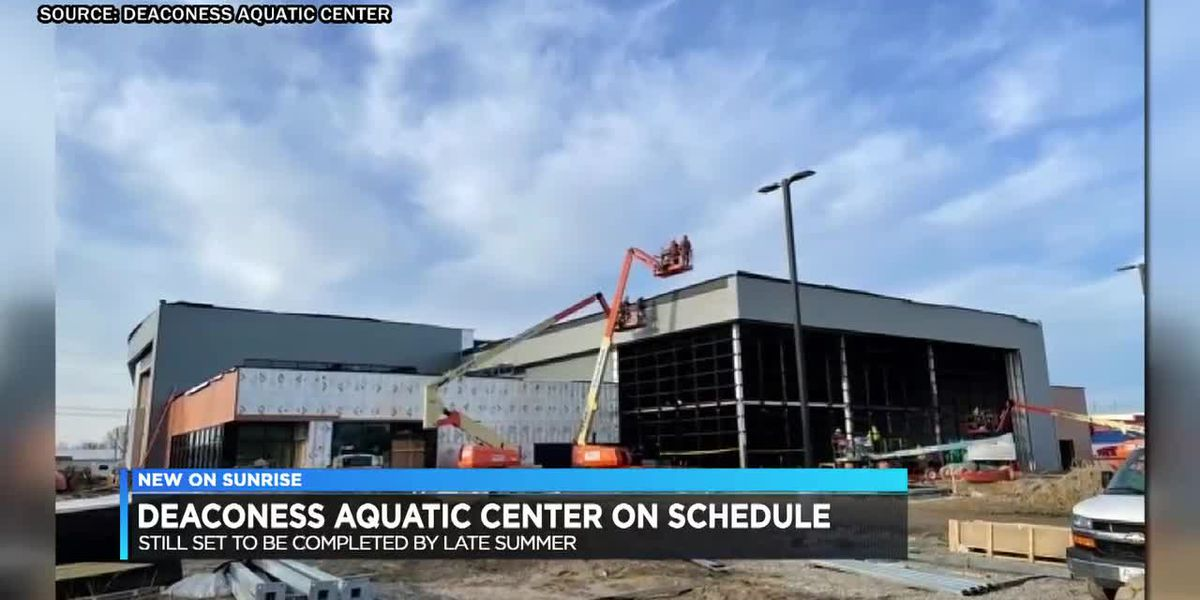 Deaconess Aquatic Center still set to be finished by late summer