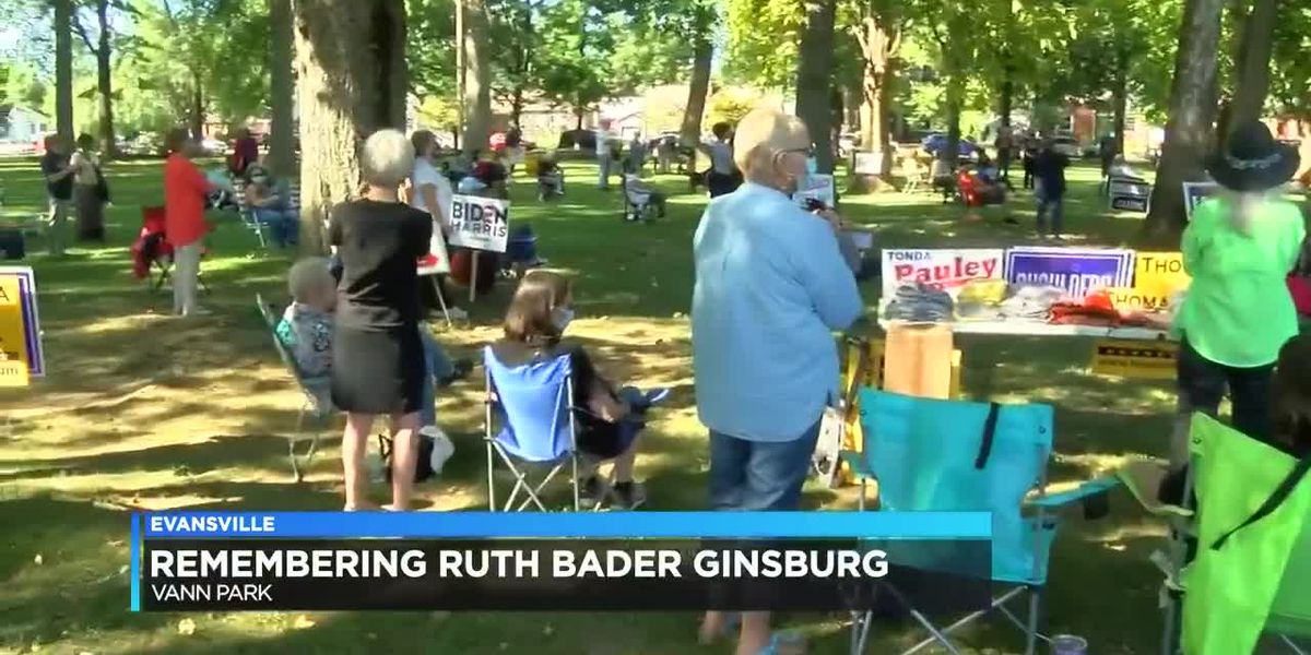 Vanderburgh Co. Democratic Party organizes event to honor Ruth Bader Ginsburg