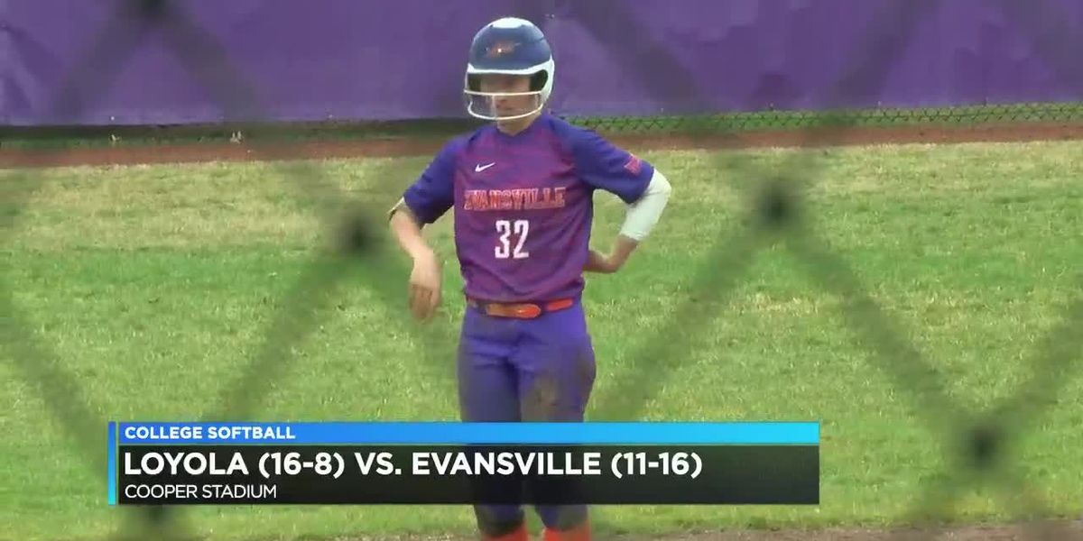 HIGHLIGHTS: Loyola vs Aces softball