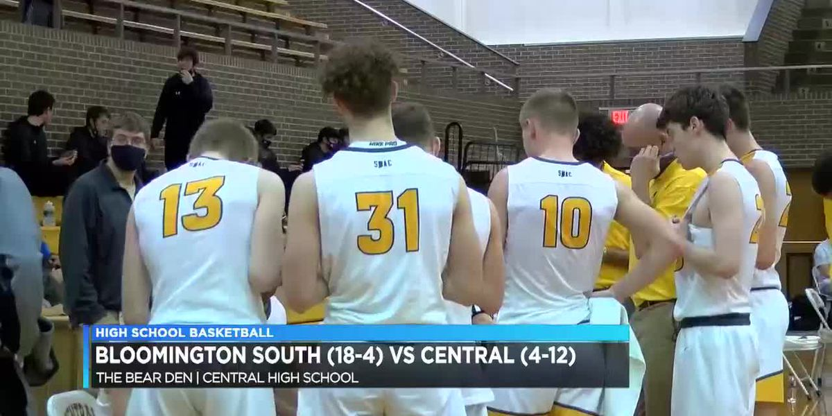 HS Boys Basketball: Bloomington South vs Central