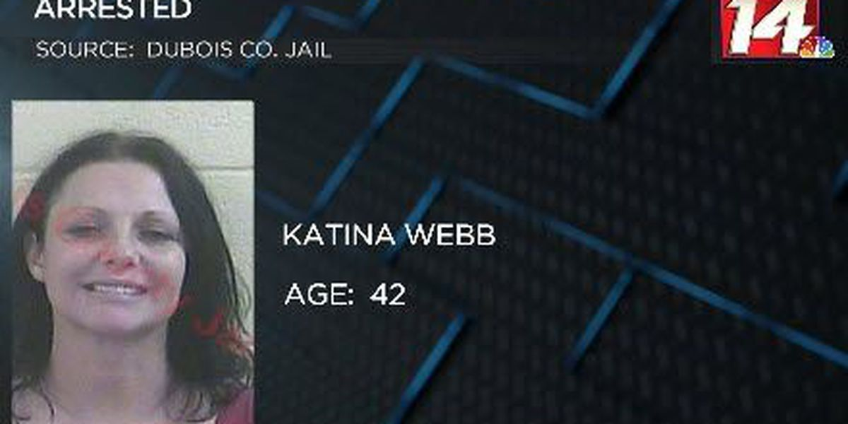 Police: Spencer Co. woman almost hit squad car while driving drunk
