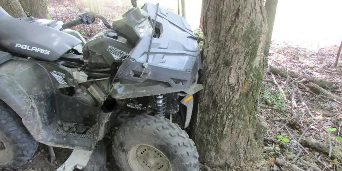 Dispatch: Juvenile hits tree on ATV, medical helicopter called to scene