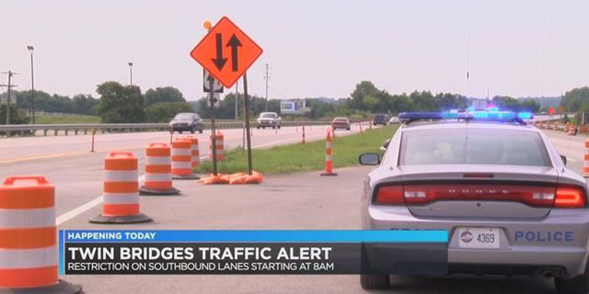 Traffic Alert for Twin Bridges