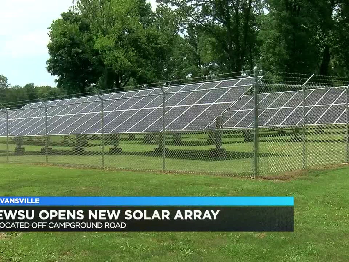 EWSU opens new solar array