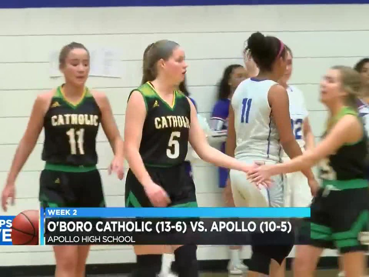 Hoops Live: Owensboro Catholic Girls vs Apollo Girls