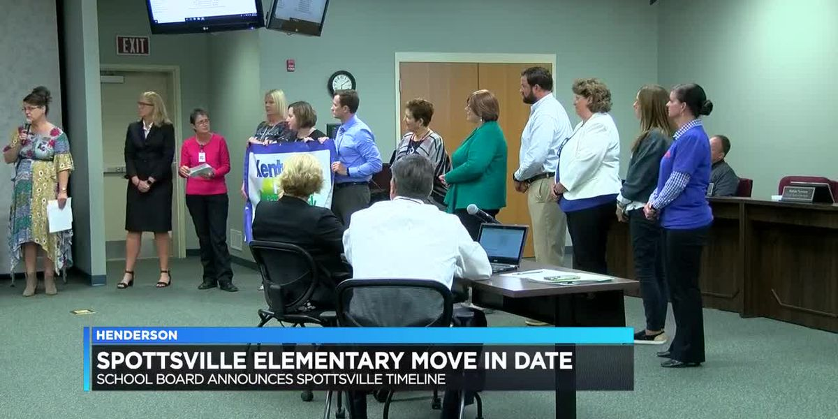 New Spottsville Elem. Gets official first day