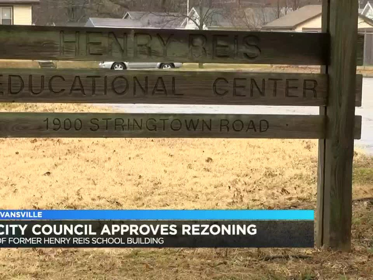 Evansville City Council approves rezoning for former Henry Reis school building