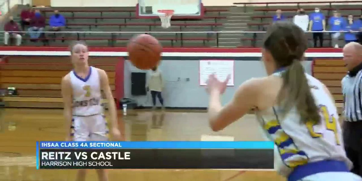 Girls 4A Sectional: Reitz vs Castle