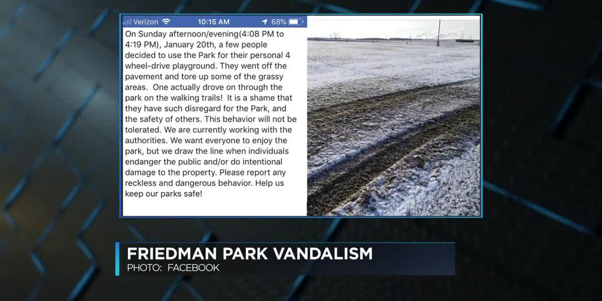 Neighborhood Watch: Friedman Park vandals; shots fired into vehicle