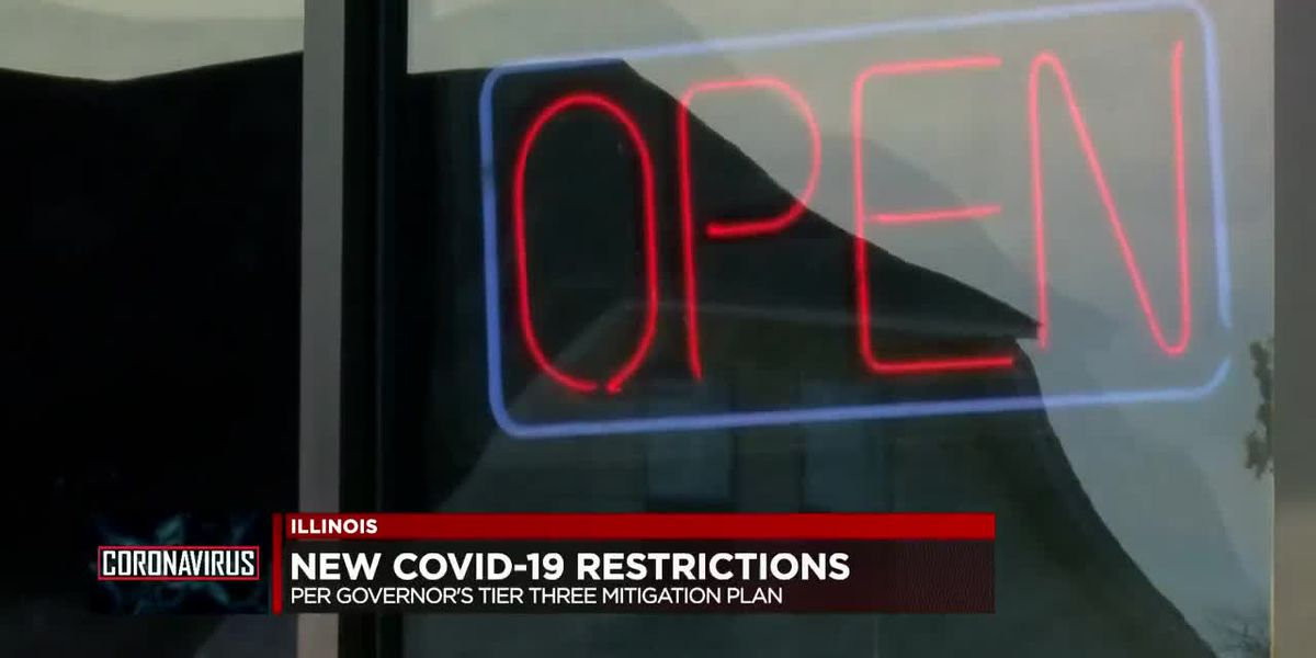 New COVID-19 restrictions to take effect in Illinois on Friday