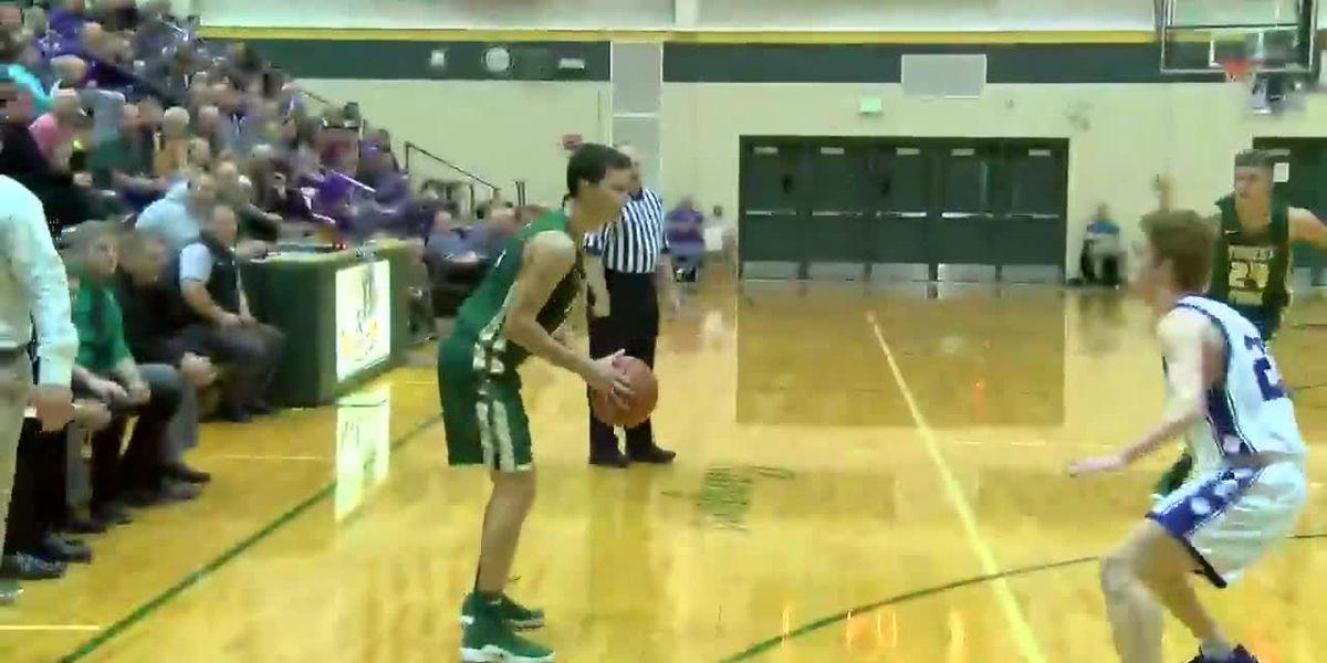 HIGHLIGHTS: Forest Park vs Lanesville boys basketball
