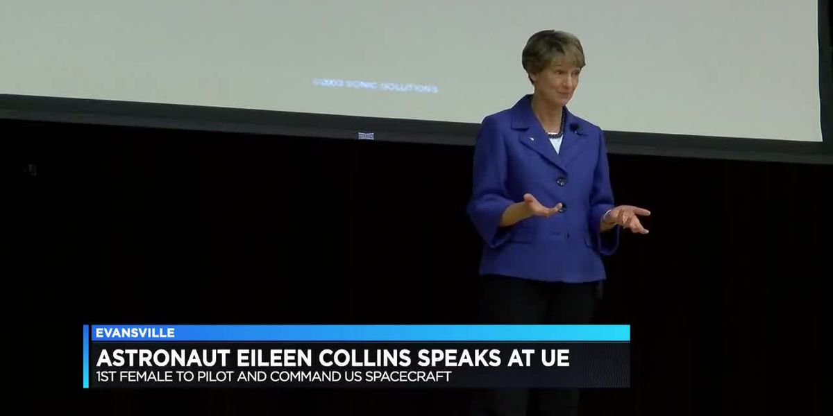 Astronaut Eileen Collins comes to University of Evansville