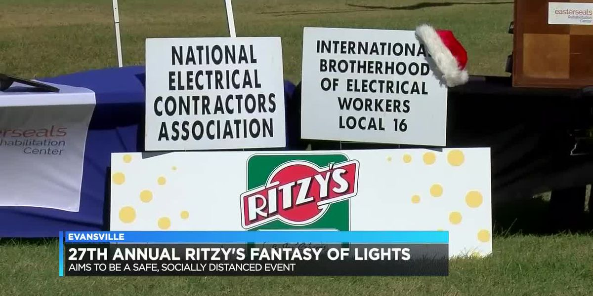 Ritzy's Fantasy of Lights aims to be safe, socially distanced event