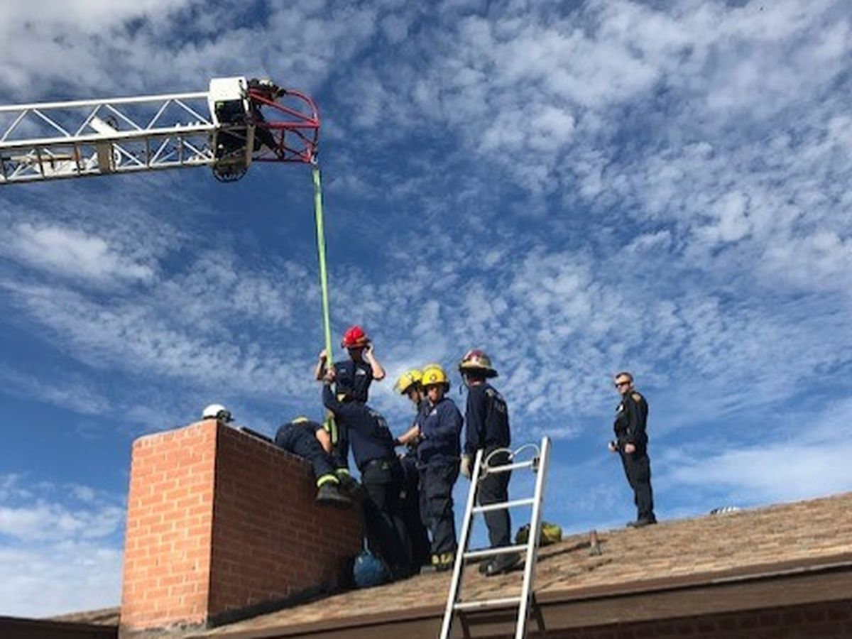 Ho ho, oh no! Arizona man gets trapped in chimney weeks ahead of Christmas
