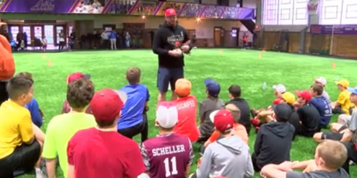 Washington Nationals pitcher, Central grad Aaron Barrett hosts 1st annual pitching skills camp