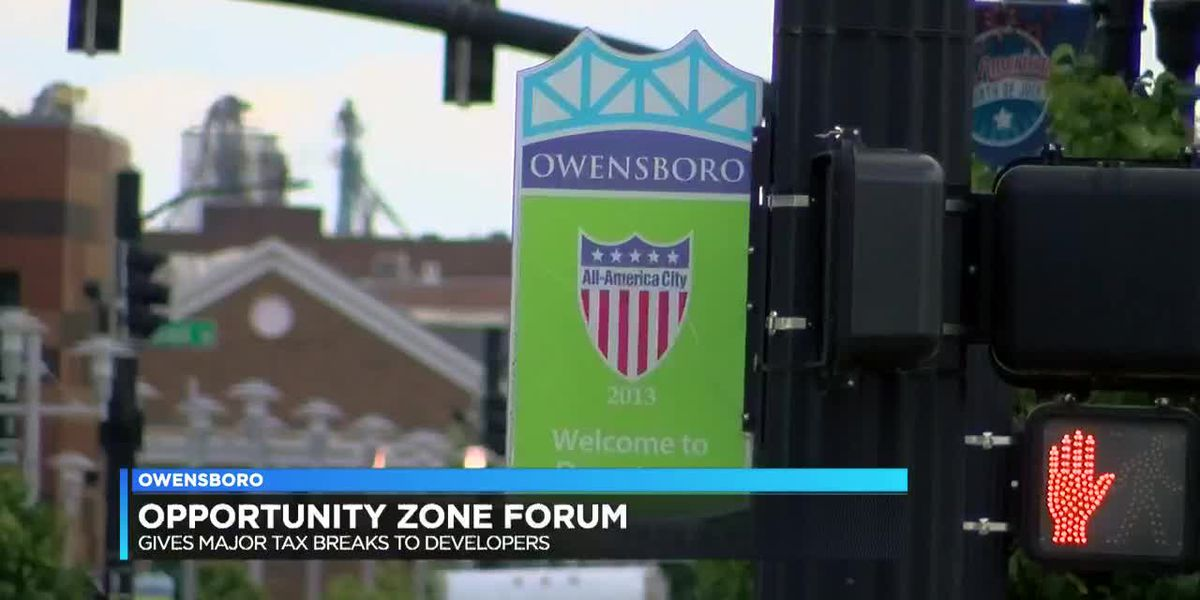 Owensboro hosts community forum on opportunity zones