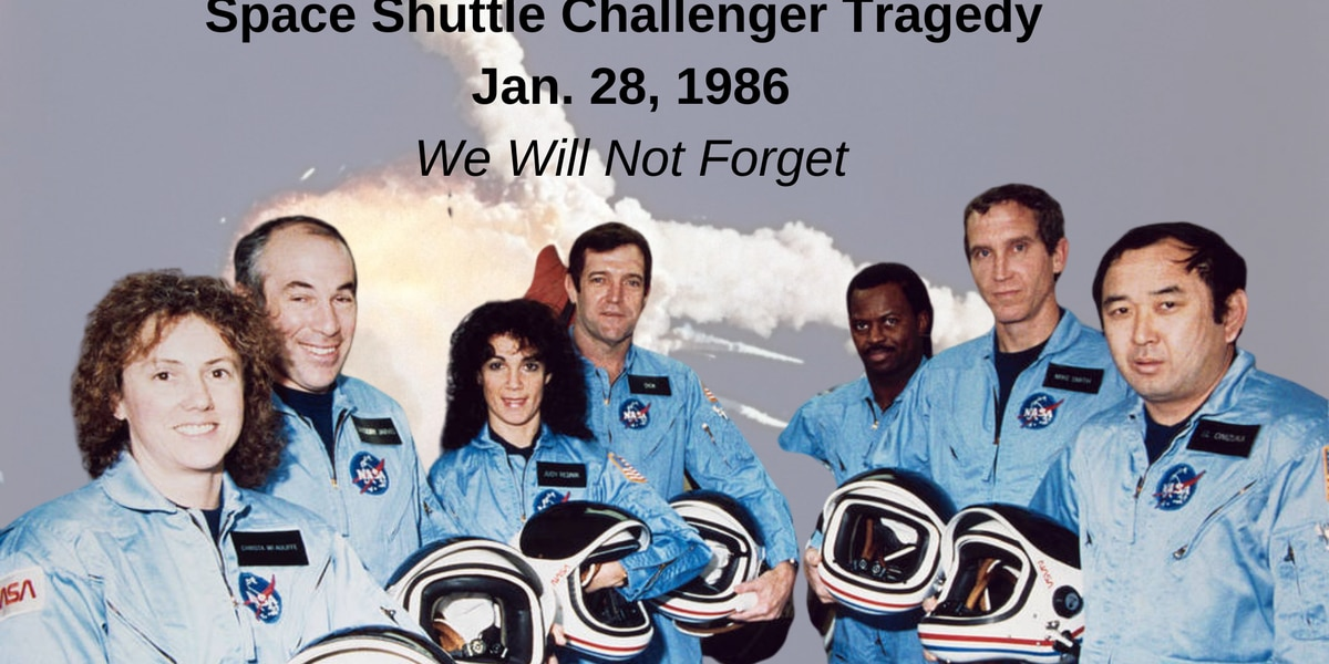 35 years ago NASA lost 7 astronauts when Challenger exploded