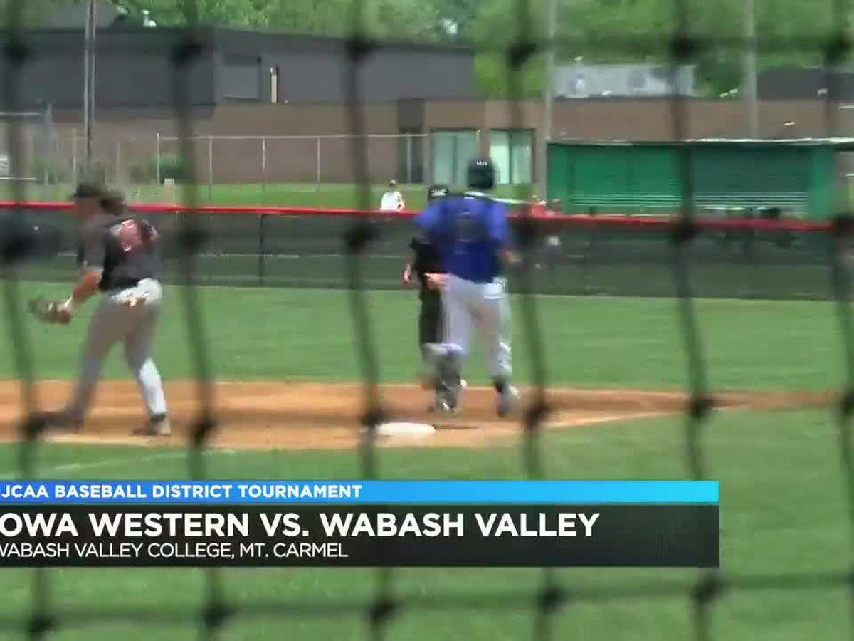 Wabash Valley vs Iowa Western District tournament