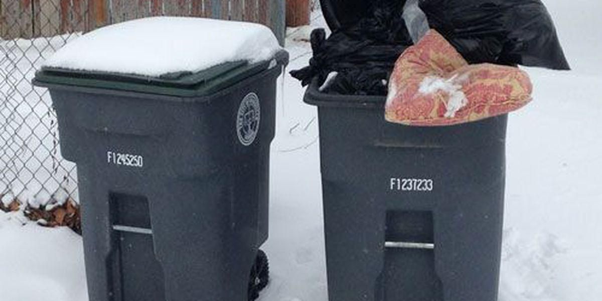 Information about trash pickup in Evansville and Vanderburgh Co.