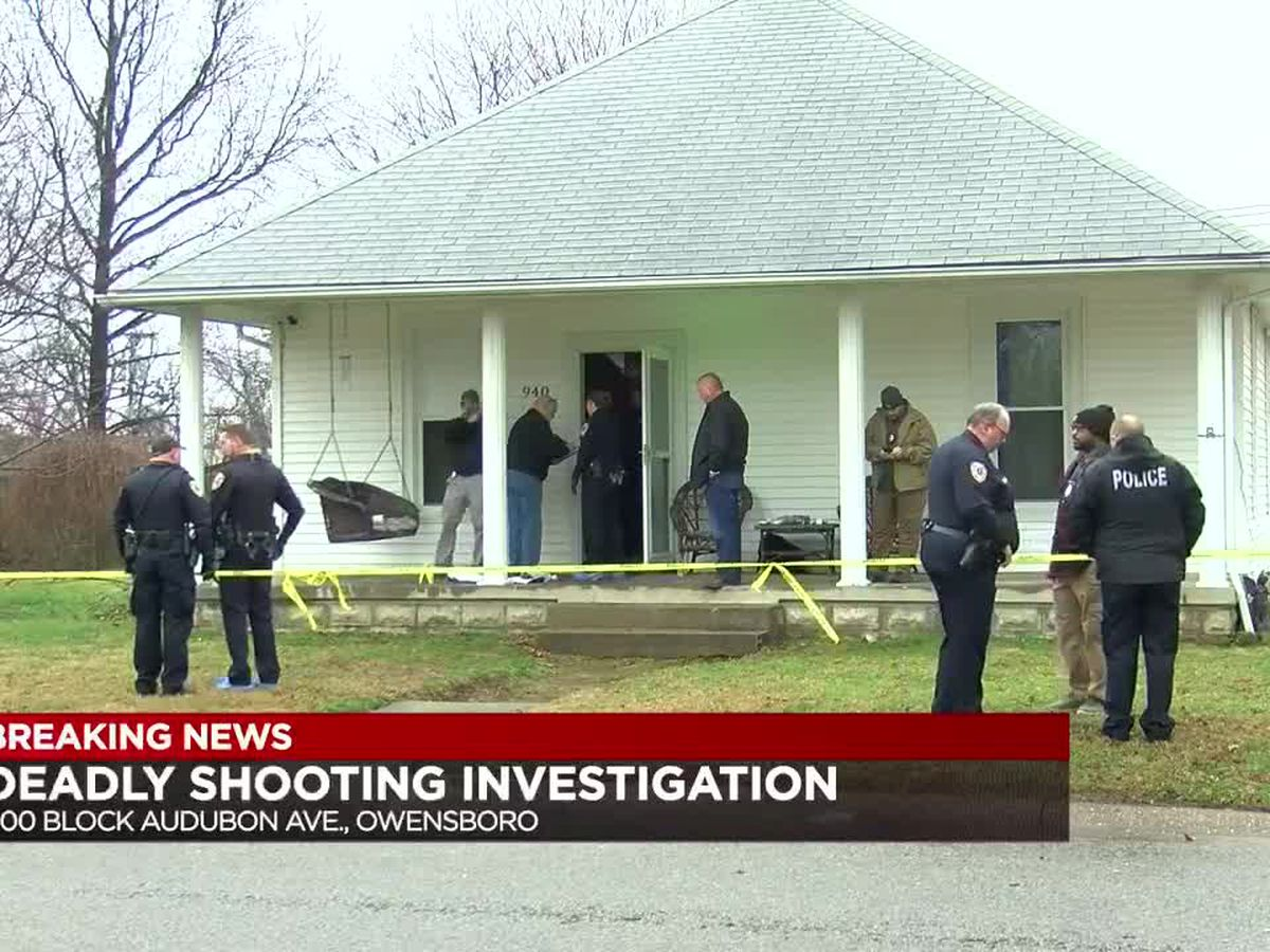 Names released in quadruple Owensboro shooting, two arrests made