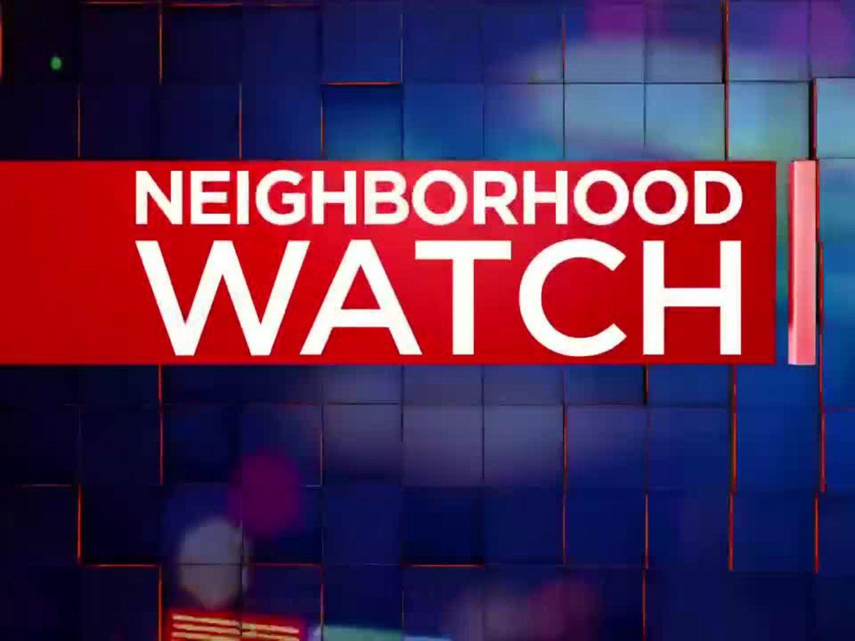 Neighborhood Watch: Theft suspect caught on camera