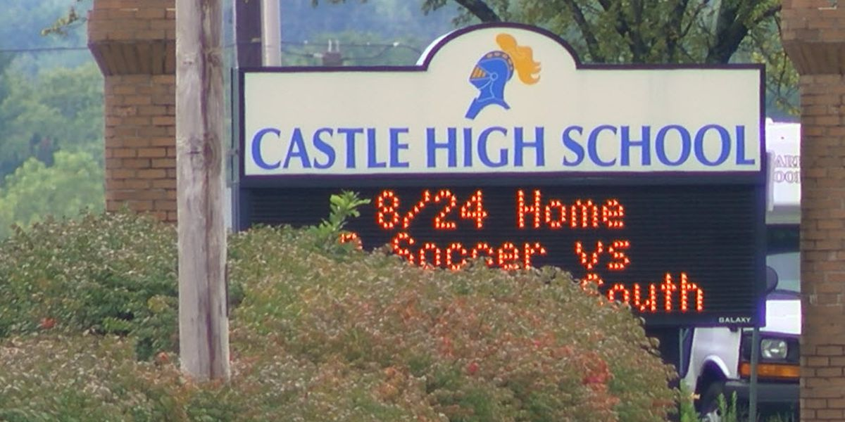 Castle High School reports 2 new COVID-19 cases