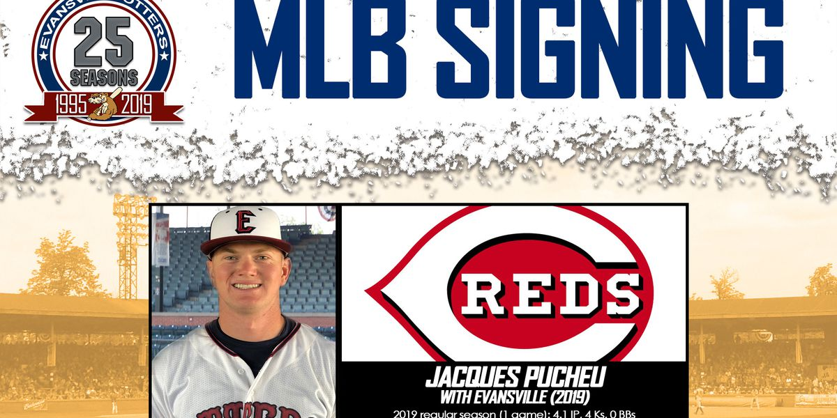 Otters' Pucheu Gets Signed by Reds