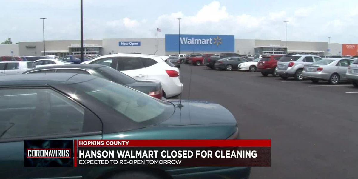 Hopkins Co. Walmart to temporarily close for deep cleaning