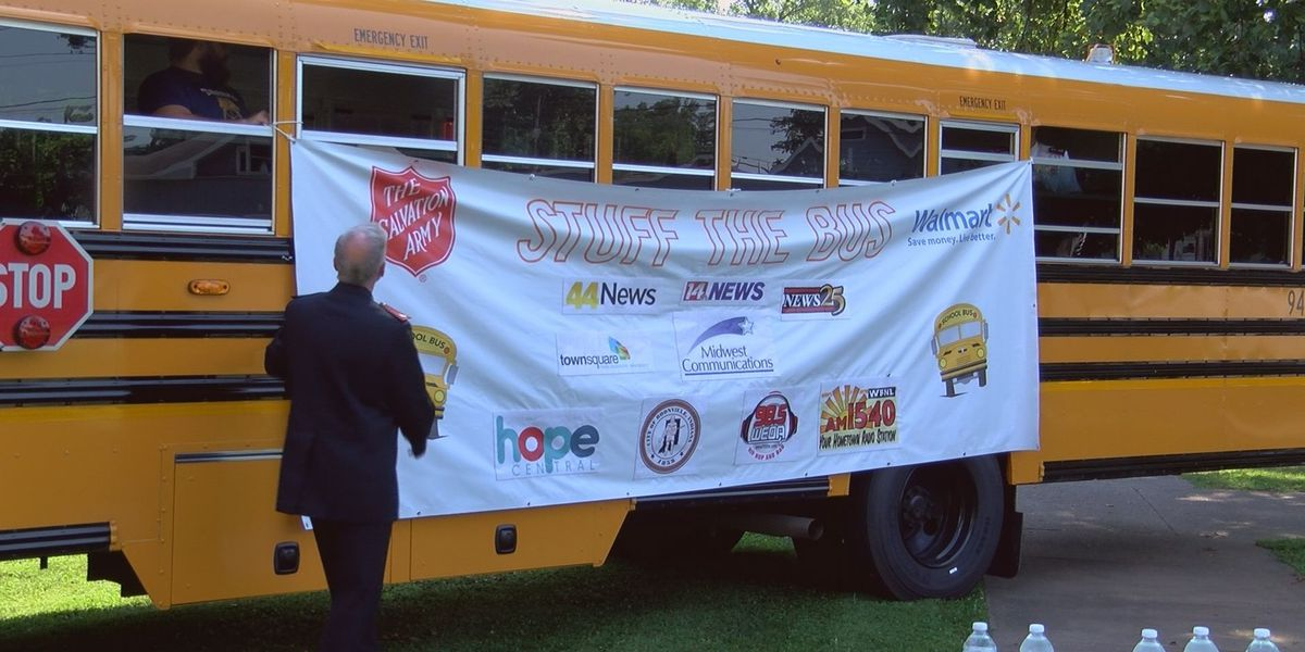 Salvation Army gets ready for first ever Stuff The Bus