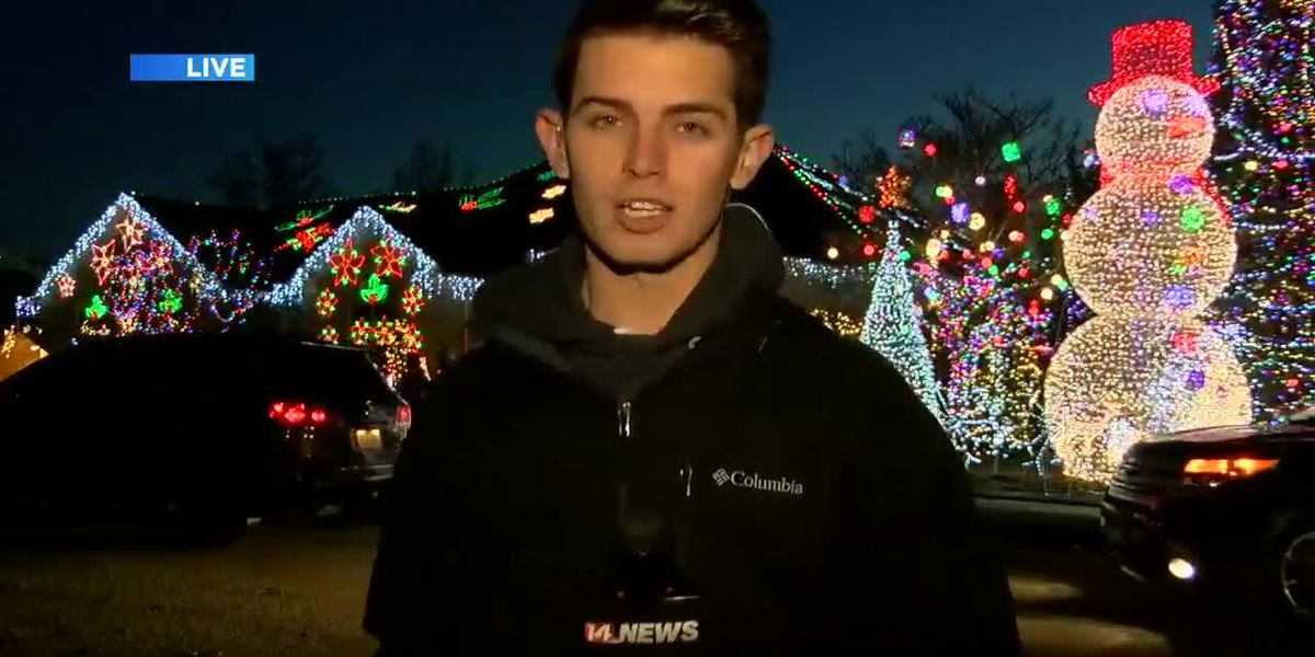 Home light display in Owensboro raising money for good causes