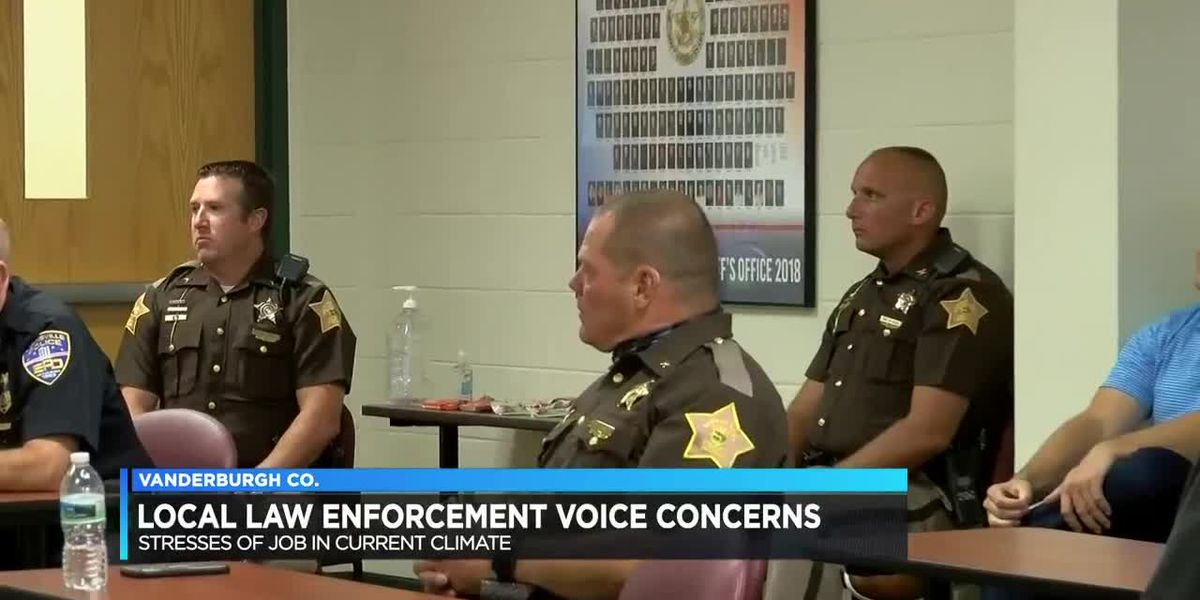Law enforcement express concerns over current issues